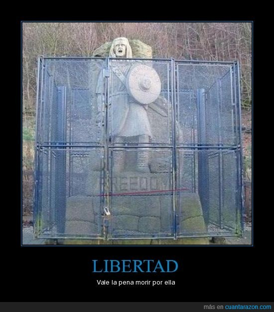 candado,carcel,estatua,libertad