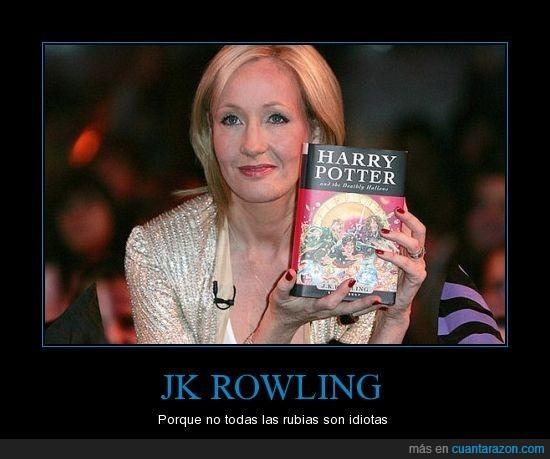 harry,jk rowling,potter,rubias