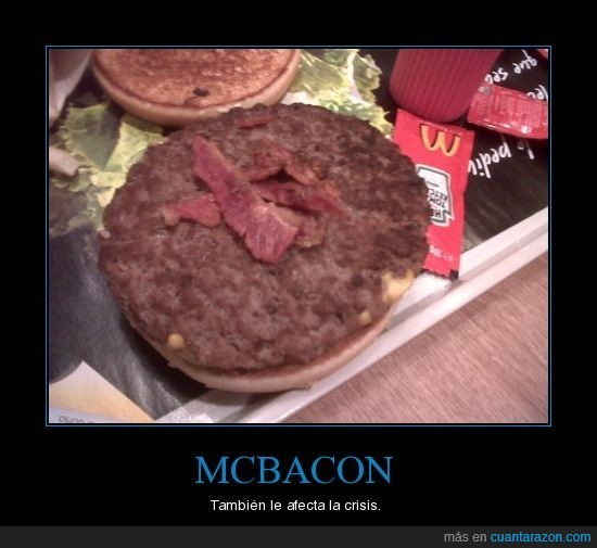 bacon,estafa,fail,McDonald's