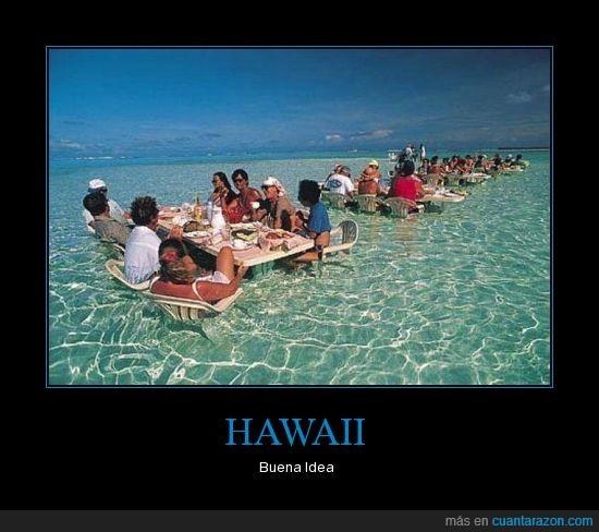 agua,buena,comer,hawaii,idea