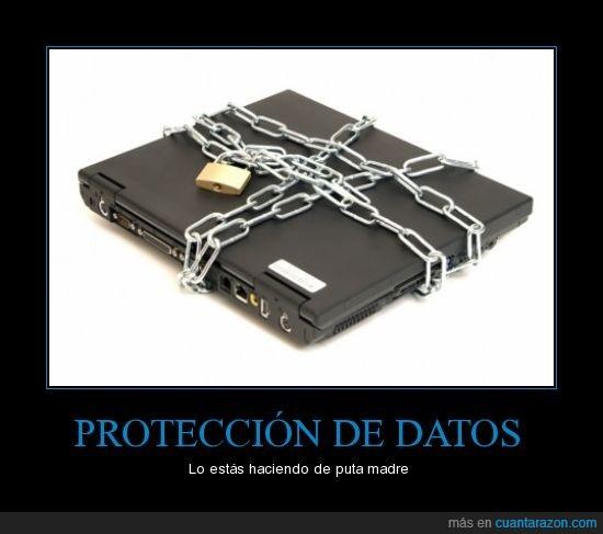 bien,cadena,candado,datos,protección