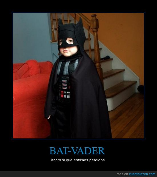 bat vader,come to the dark side we have cookies,confusion,dark side