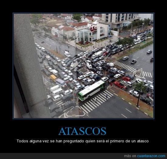 atascos,carreteras,coches,parados