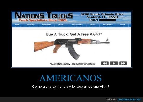 AK-47,americanos,camioneta,compra.gratis