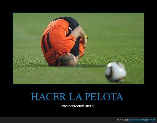 deporte,Futbol,pelota,Robben,teatro