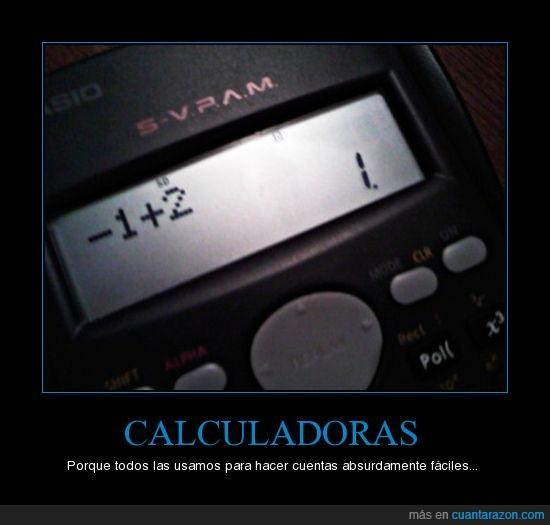 calculadoras,cuentas,faciles