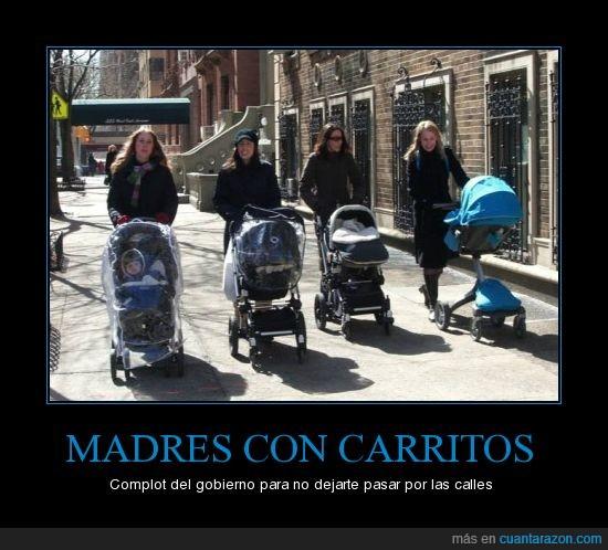calle,carritos,gobierno,madres