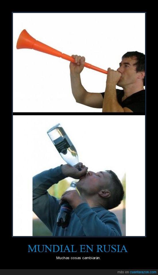 alcohol,fútbol,mundial,rusia,vodka,vuvuzela