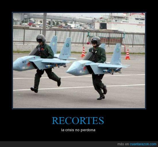 aviones,cazas,crisis,dinero,recortes