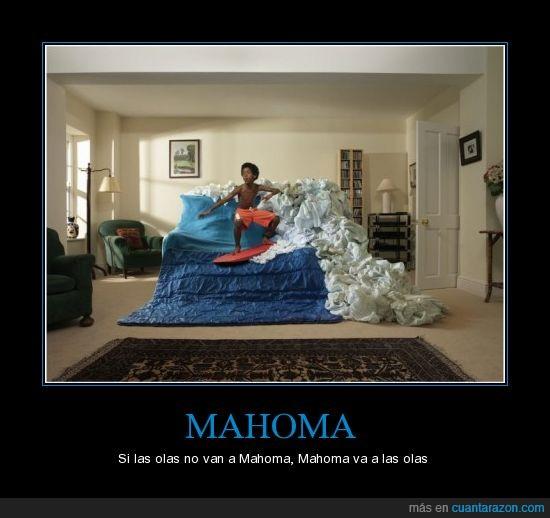 casa,mahoma,olas,sofá,surf