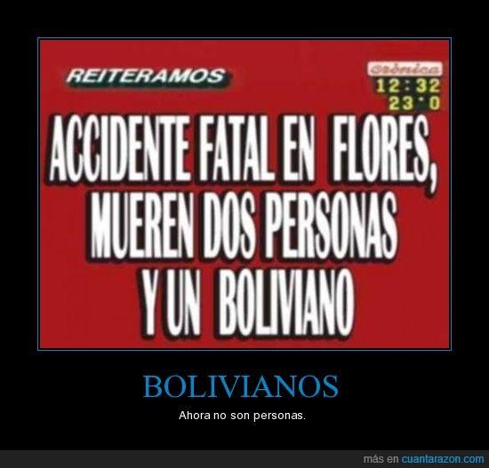 accidente,bolivianos,cronica,persona,tv