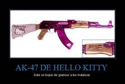 Enlace a AK-47 DE HELLO KITTY