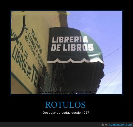 cartel,libro,rotulo