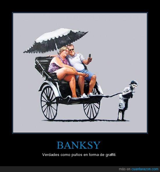 banksy,consumismo,denuncia,graffiti,tercer mundo