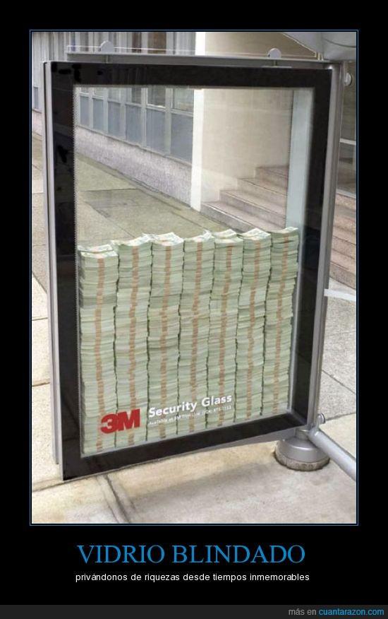 anuncio,billetes,dinero,vidrio