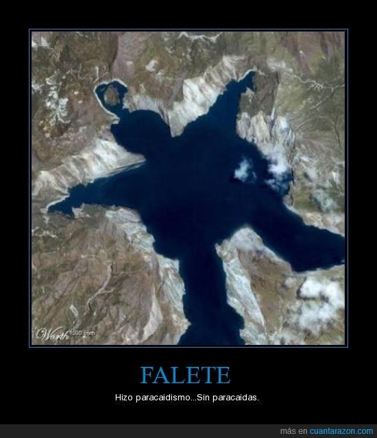 Falete,paracaidismo,sin paracaidas