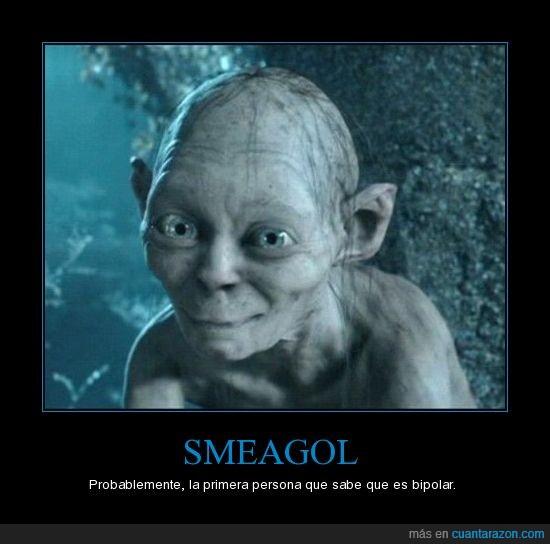El señor de los anillos,Gollum,Smeagol