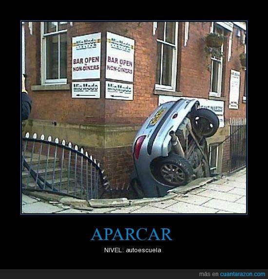 aparcar,autoescuela,coche