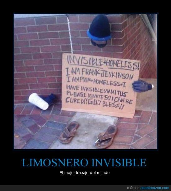 invisible,limosnero,mejor,mundo,trabajo
