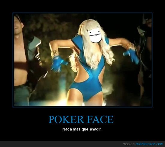 Lady Gaga,poker face
