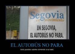 Enlace a EL AUTOBÚS NO PARA
