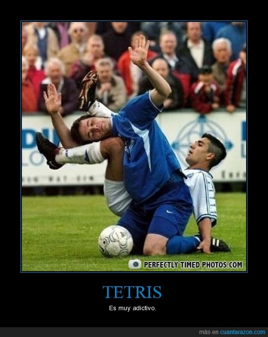 futbol,tetris