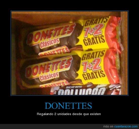 donettes,gratis