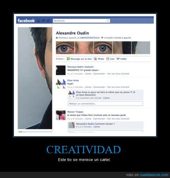 creatividad,facebook,nuevo
