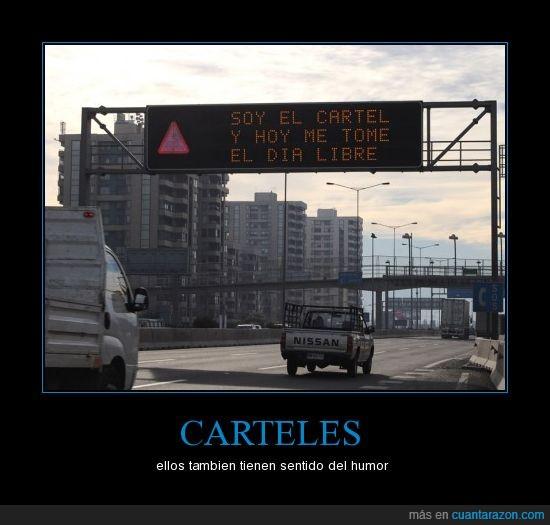autopista,cartel,coche,humor,lol