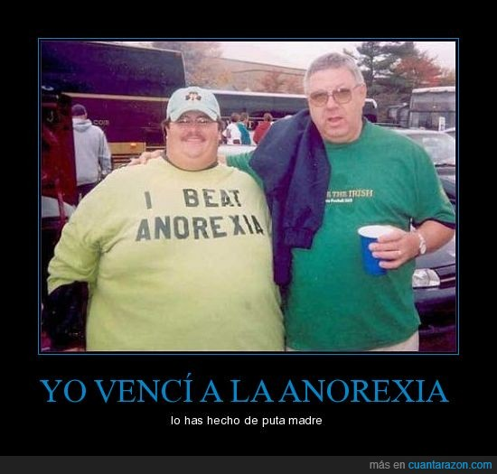 anorexia,camiseta,gordo,vencer