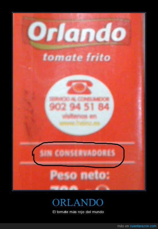 conservadores,conservantes,orlando,tomate