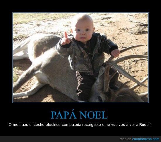 papa noel,reno,rudolph