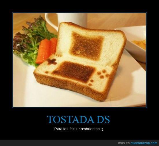 DS,nintendo,tostada