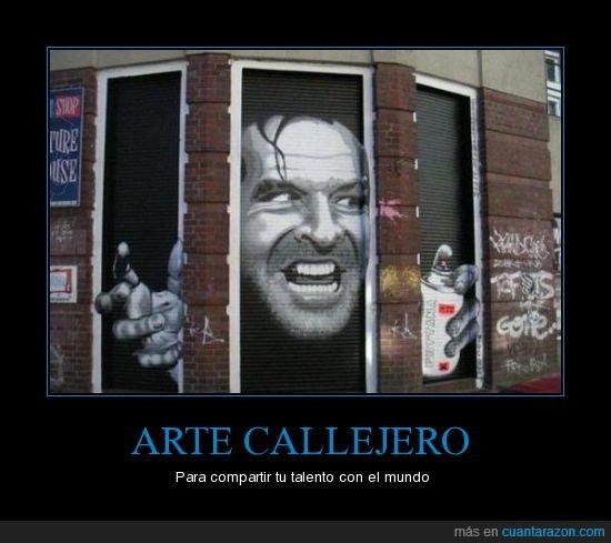 arte,callejero,graffiti,talento