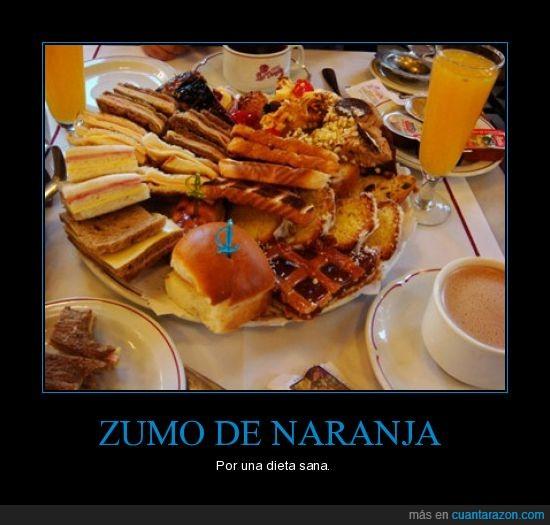comida,friki,ironia,naranja,sana,zumo
