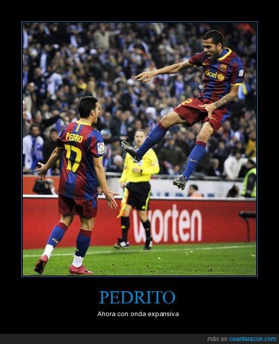Alves,barça,onda expansiva,Pedro