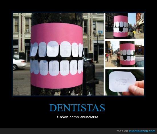 anuncio,dentintas,dentista,dientes