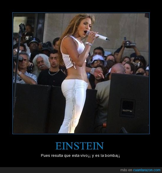 EINSTEIN,jennifer lopez