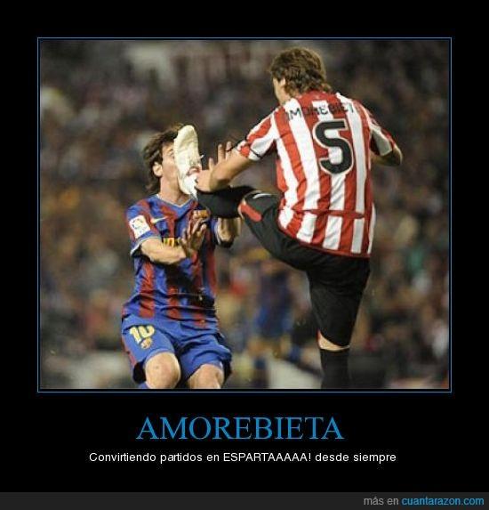 Amorebieta,Athletic,Barcelona,Messi,San Mamés
