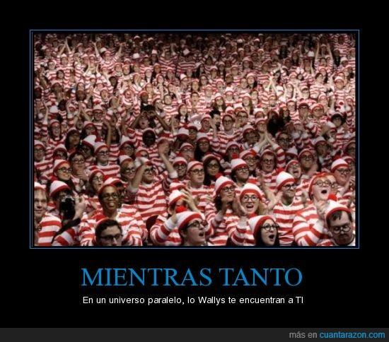 encontrar,paralelo,universo,wally