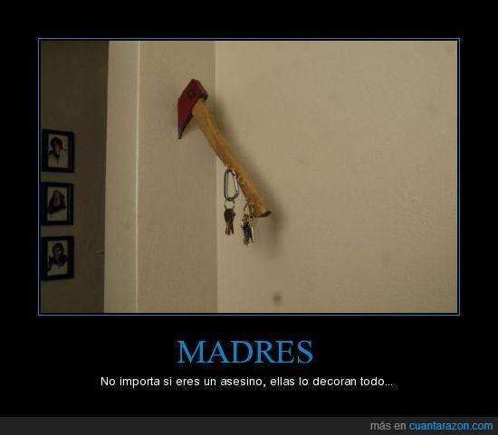 Asesino,Casa,Llavero,Madres