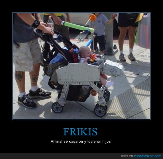 carrito,Frikis,star wars
