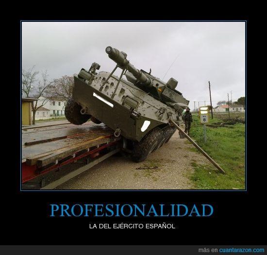 ejército,español,tanque,volcar