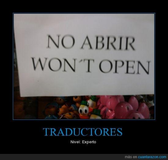 expertos,inglés,Traductores