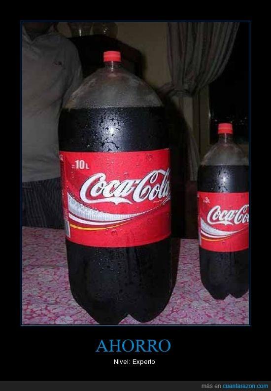 10,ahorro,coca,cola,experto,litros,nivel