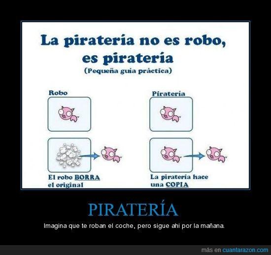 piratería,robo
