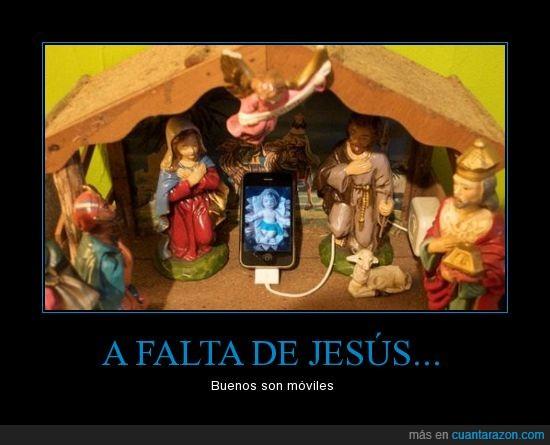 belén,iphone,jesús