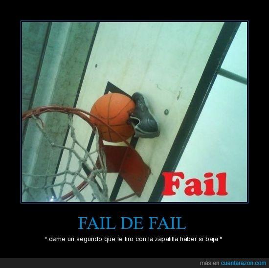 basket,fail,recuperar,zapatilla