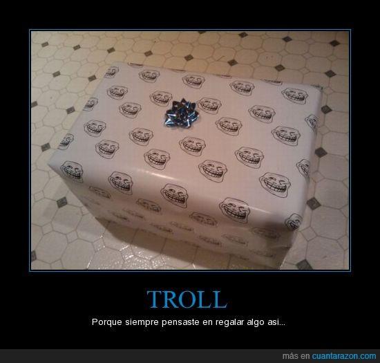 envoltorio,misterioso,regalo,troll