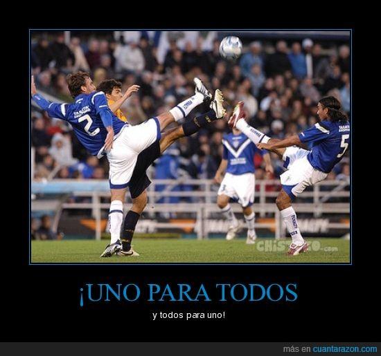 futbol,mosqueteros